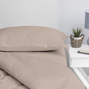 1000 THREAD COUNT PILLOW CASE SET TAUPE