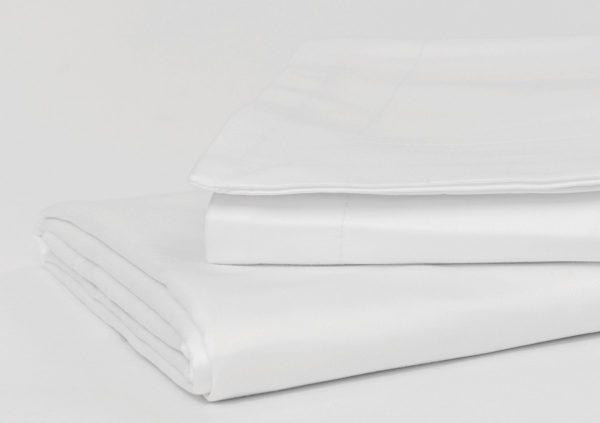 1000 THREAD COUNT PILLOW CASE SET WHITE