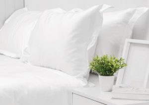 550 THREAD COUNT PILLOW CASE SET WHITE