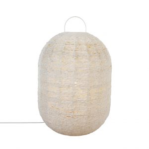 Cotton Floor Lantern Large