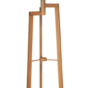 Jaggered Floor lamp - Oak