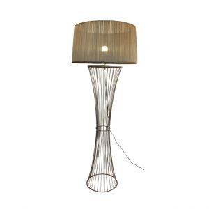 Marilyn Floor Lamp - Pearl Beige