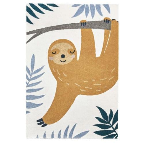 Sloth Shaggy Kids Rug