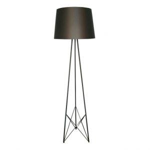 Trilateral Floor Lamp - Black