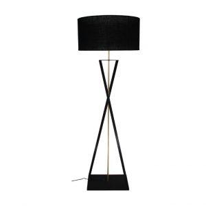 Twister Floor Lamp - Sandpaper Black