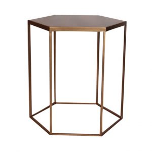 Hex Side Table - Metallic & Non Standard