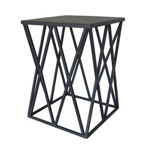 Kai-Leila Side Table - Metallic & Non Standard