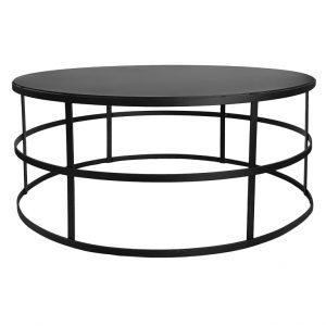 Gymkhana Coffee Table (Fixed Top) - Plain Top / Plain Base