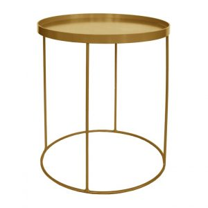 Drinks Side Table - Metallic & Non Standard